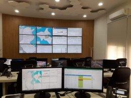 Le Centre National de l'Informatique dispose d'un Network Operations Center (NOC)