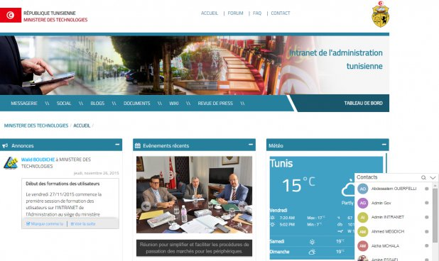 Government and enterprise intranet
